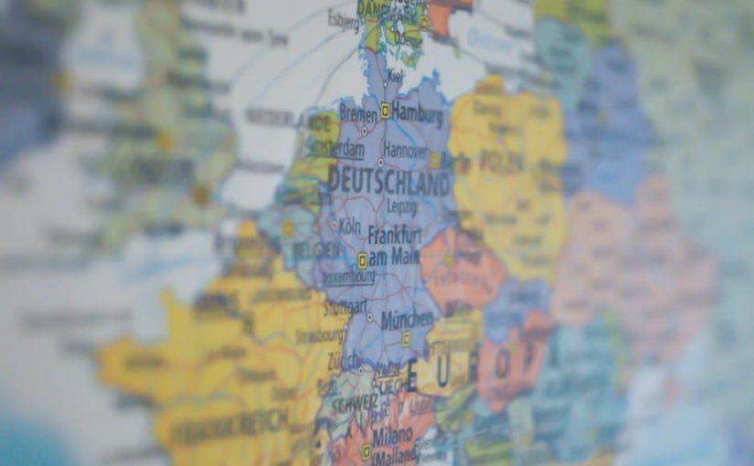 Interaktywna mapa Europy