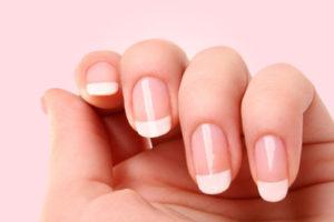 paznokcie po manicure