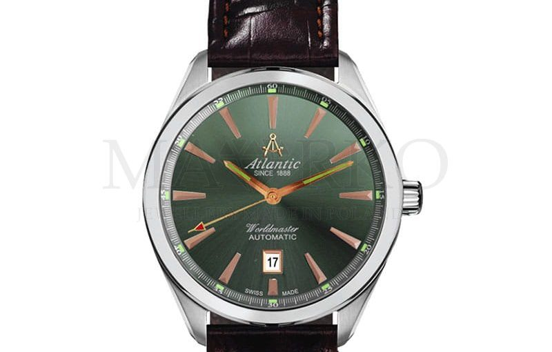 Atlantic Worldmaster – doskonały zegarek dla młodego mężczyzny [recenzja]