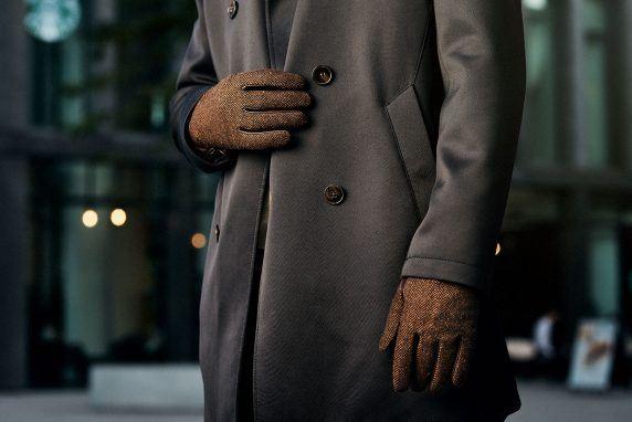 Jakie rękawiczki męskie do płaszcza?